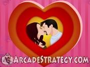 Angelina and Brad Kissing Icon