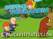 Play Defend Your Cabin