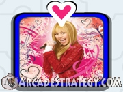 Hannah Montana puzzle game Icon