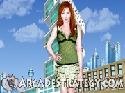 Katie Cassidy trendy dress up Icon