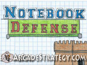 Play Notebook Defense