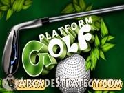 Platform Golf Icon
