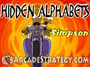 Simpsons - Hidden Alphabet Icon