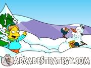 Springfield Snow Fight Icon