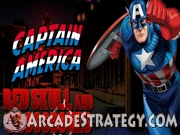 Play Captain America - Red Skull and Crossbones