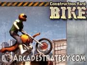 Construction Yard Bike Icon
