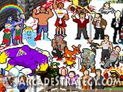 Frozen Pixel Hunt Icon