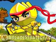 Golden Ninja Icon