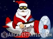 Santa Airplane Icon