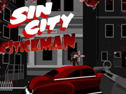 Sin City Stickman Icon