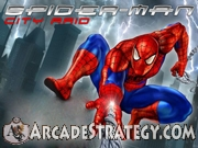 Spiderman City Raid Icon
