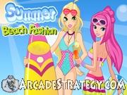 Summer Beach Fashion Icon