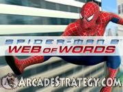 Web of Words - Spiderman Icon